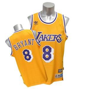 NBA レイカーズ コービー・ブライアント ユニフォーム ホーム アディダス Soul Swingman ユニフォーム selection-j