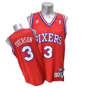 NBA 76ers アレン・アイバーソン ユニフォーム 2002-2003HWC アディダス Soul Swingman ユニフォーム|selection-j