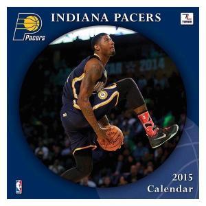 NBA ペイサーズ カレンダー JFターナー/JF Turner NBA 2015 12×12 TEAM WALL カレンダー|selection-j