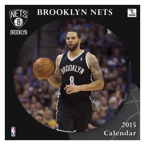 NBA ネッツ カレンダー JFターナー/JF Turner NBA 2015 12×12 TEAM WALL カレンダー selection-j