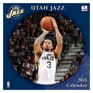 NBA ジャズ カレンダー JFターナー/JF Turner NBA 2015 12×12 TEAM WALL カレンダー selection-j