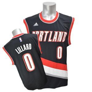 【セール】NBA トレイルブレイザーズ デイミアン・リラード ユニフォーム ロード Adidas【1707NBA】|selection-j