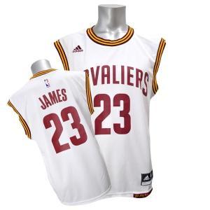 【セール】NBA キャバリアーズ レブロン・ジェイムス ユニフォーム ホーム Adidas【1707NBA】|selection-j