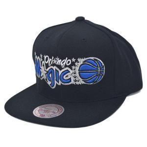 NBA マジック キャップ/帽子 ブラック ミッチェル&ネス HWC Wool Solid Snapback|selection-j
