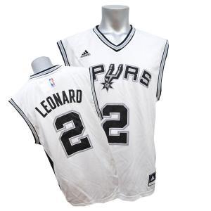NBA スパーズ カワイ・レナード ユニフォーム ホーム Adidas【セール】|selection-j