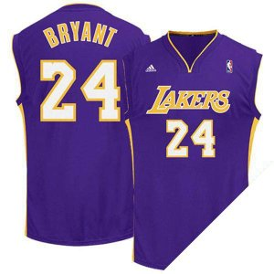 お取り寄せ NBA レイカーズ コービー・ブライアント ユニフォーム ロード Adidas selection-j