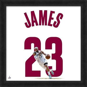 NBA キャバリアーズ レブロン・ジェイムス フォトフレーム フォト ファイル/Photo File UNIFRAME 20 x 20 Framed Photographic selection-j