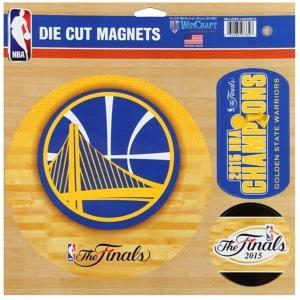 NBA ウォリアーズ マグネット ウィンクラフト/WinCraft (11x11 Magnet Sheet 3-Pack) selection-j