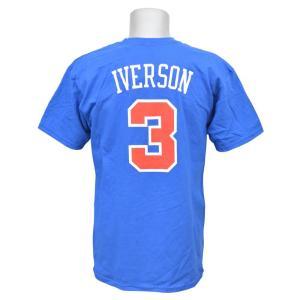 NBA 76ers アレン・アイバーソン Tシャツ Soul Swingman Tシャツ Adidas|selection-j