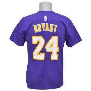 NBA レイカーズ コービー・ブライアント ネット ナンバー Tシャツ アディダス/Adidas selection-j