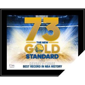 お取り寄せ NBA ウォリアーズ レコード ブレーキング シーズン サブリミテッド フォトフレーム|selection-j