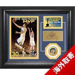 お取り寄せ NBA ウォリアーズ ステファン・カリー ステフィン・カリー 2016 MVP ブロンズ コイン デスクトップ フォトミント Highland Mint|selection-j
