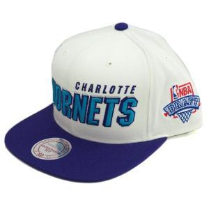 NBA ホーネッツ コメモラティブ ドラフト キャップ/帽子 1996年 復刻モデル ミッチェル&ネス/Mitchell & Ness【1811MNセール】|selection-j