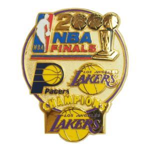NBA 2000 ファイナル レイカーズ vs ペイサーズ 記念 ピンバッジ レアアイテム|selection-j