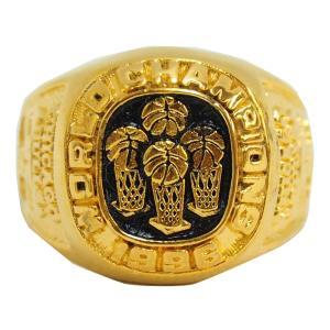 NBA ブルズ 1996 ファイナルレプリカチャンピオンリング SGA レアアイテム【1909プレミア】 selection-j