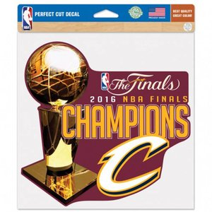 NBA キャバリアーズ 2016 ファイナル優勝記念 パーフェクト カット カラー ステッカー ウィンクラフト/WinCraft|selection-j