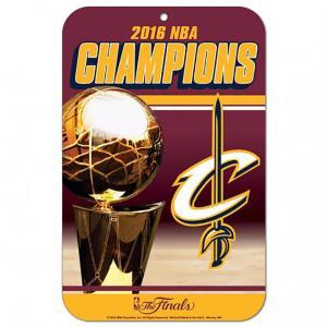 NBA キャバリアーズ 2016 ファイナル優勝記念 プラスチック サイン ウィンクラフト/WinCraft|selection-j