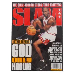 NBA 1998年刊行 マイケル・ジョーダン特集号 SLAM レアアイテム【1909プレミア】 selection-j