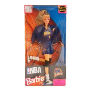 NBA ウォリアーズ 1998年製 バービードール Barbie Collectibles レアアイテム【1909プレミア】 selection-j