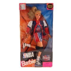 ジャパンゲーム 来日 NBA ロケッツ 1998年製 バービードール Barbie Collectibles レアアイテム【1909プレミア】 selection-j