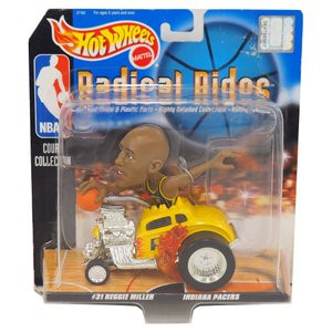 NBA ペイサーズ レジー・ミラー ラディカルライズ 1998 ホットウィール/Hot Wheels レアアイテム|selection-j