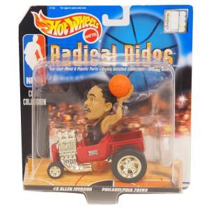 NBA 76ers アレン・アイバーソン ラディカルライズ 1998 ホットウィール/Hot Wheels|selection-j