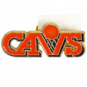 NBA キャバリアーズ クラシック ロゴ ピンバッジ Peter David レアアイテム|selection-j