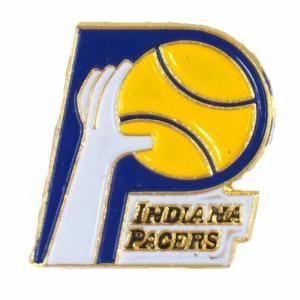 NBA ペイサーズ クラシック ロゴ ピンバッジ Peter David レアアイテム|selection-j