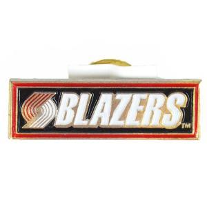 NBA トレイルブレイザーズ クラシック ロゴ ピンバッジ Peter David レアアイテム|selection-j