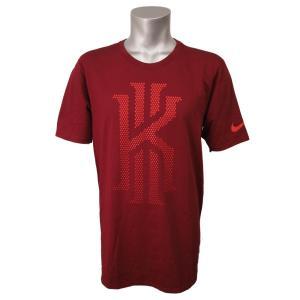 ナイキ カイリー/NIKE KYRIE DRI-FIT ドライ ミューテッド Tシャツ Team Red|selection-j