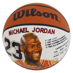 NBA ブルズ マイケル・ジョーダン ミニ バスケットボール ウィルソン/Wilson レアアイテム【1910価格変更】|selection-j
