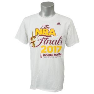 NBA キャバリアーズ 2017 イースタン カンファレンス チャンピオン ロッカールーム Tシャツ アディダス/Adidas ホワイト|selection-j