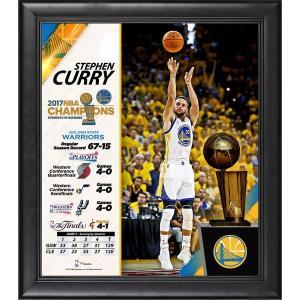 お取り寄せ NBA ウォリアーズ ステファン・カリー ステフィン・カリー 2017 ファイナル優勝記念 コラージュ フレーム selection-j