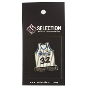 NBA マジック シャキール・オニール ユニフォーム ピンバッジ IMPRINTED PRODUCTS(インプリンテッドプロダクツ) レアアイテム|selection-j