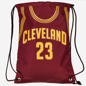 NBA キャバリアーズ レブロン・ジェームズ ユニフォーム ジムサック/バックパック/リュック メンズ|selection-j