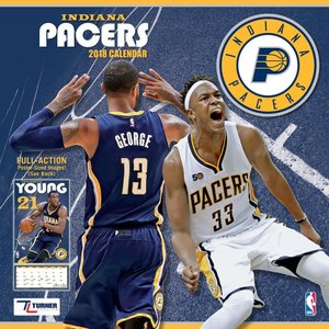 NBA ペイサーズ 2018 チーム ウォール カレンダー ターナー/Turner|selection-j