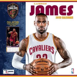 NBA キャバリアーズ レブロン・ジェイムス 2018 プレイヤー ウォール カレンダー ターナー/Turner|selection-j