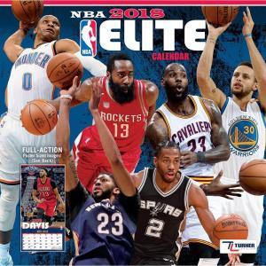 NBA 2018 エリート ウォール カレンダー ターナー/Turner selection-j