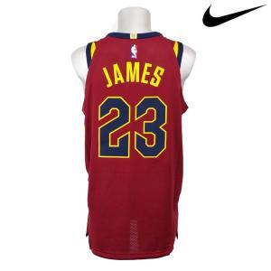 NBA Nike/ナイキ キャバリアーズ レブロン・ジェイムス オーセンティック ユニフォーム/ユニホーム ロード|selection-j