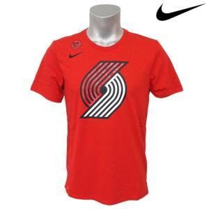 NBA Nike/ナイキ  トレイルブレイザーズ ロゴ ショートスリーブ Tシャツ ユニバーシティレッド|selection-j