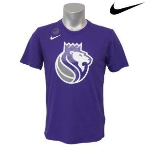 NBA Nike/ナイキ キングス ロゴ ショートスリーブ Tシャツ コートパープル|selection-j