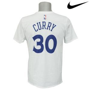 NBA Nike/ナイキ ウォリアーズ ステファン・カリー ステフィン・カリー ネーム&ナンバー Tシャツ ホワイト selection-j