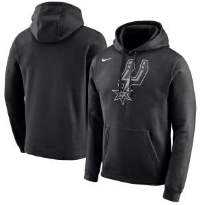 NBA Nike/ナイキ スパーズ ロゴ クラブ パーカー ブラック|selection-j