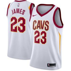 お取り寄せ NBA Nike/ナイキ キャバリアーズ レブロン・ジェイムス スウィングマン ユニフォーム/ユニホーム ホワイト|selection-j
