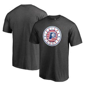 お取り寄せ NBA ペイサーズ Hoops for Troops Tシャツ アッシュ|selection-j