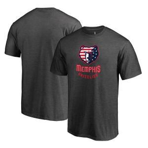 お取り寄せ NBA グリズリーズ Hoops for Troops Tシャツ アッシュ|selection-j