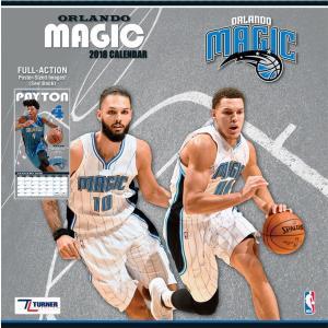 NBA マジック 2018 チーム ウォール カレンダー ターナー/Turner|selection-j
