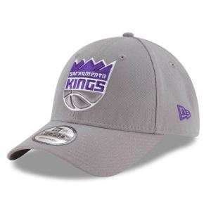 NBA キングス ザ・リーグ 9FORTY アジャスタブル キャップ/帽子 ニューエラ/New Era グレー|selection-j