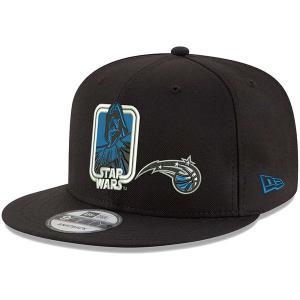 お取り寄せ NBA マジック スター・ウォーズ 9FIFTY アジャスタブル キャップ/帽子 ニューエラ/New Era ブラック selection-j