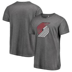 お取り寄せ NBA トレイルブレイザーズ ディストレスド ロゴ シャドー ウォッシュド Tシャツ ブラック|selection-j